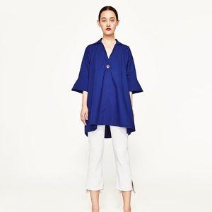 Zara Blue Dress Shirt